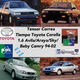Tensor Correa Tiempo Corolla 1.6 Avila/araya/sky/baby Camry