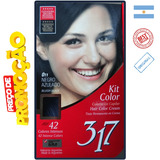 Kit Color 317 C/ 10 Tonaliz Tintur Pintar Cabel Varias Cores
