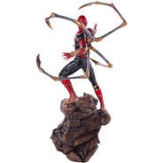 Iron Spider-man - 1/10 Bds - Infinity War - Iron Studios