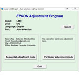 Reset Epson L380 Solución Error Almohadillas Servicio Remoto