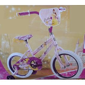 Bicicleta Disney Princess Bella R16 Niña Edad 4-6 Años