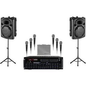 Stagepack12 Technicalpro Cornetas+ Amplificador + Micrófonos