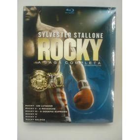 Blu-ray Coleção Rocky A Saga Completa - 6 Discos - Original