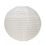 Linterna De Papel Ggi 10 Pc 16 Blanco
