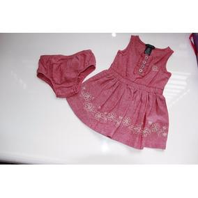 Vestido Importado 12 Meses Original Calvin Klein 2 Piezas Us
