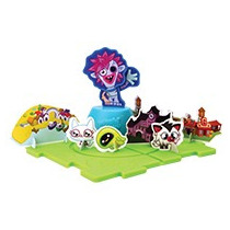 Moshi Monsters Set De Zombler Armable Del Burger King