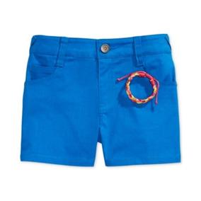 Epic Threads Short Corto Azul Con Pulsera Niña Talla 14 Años