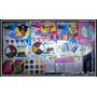 Kit Maquillaje Artistico, Pinturas Brillos Crayones Stickers