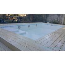 Deck Atérmico, Antideslizante 100 X 12 Cm- Bordes - Losetas