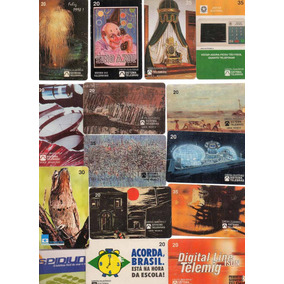 Ct-01 Lote 15 Cartões Telefônicos Brasil