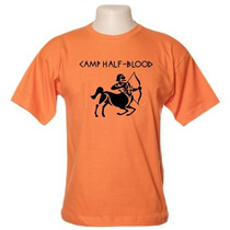 Camiseta Acampamento Meio-sangue - Percy Jackson - Wimza 2