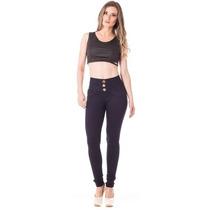 Calça Jeans Feminina Up Fit Alta Skinny - Seven Blue