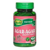 Ágar-ágar Gelatina Vegetal 600mg - 60 Cápsulas - Unilife