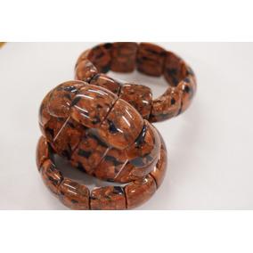 Bracelete Pedra Do Sol Feminino Pronta Entrega