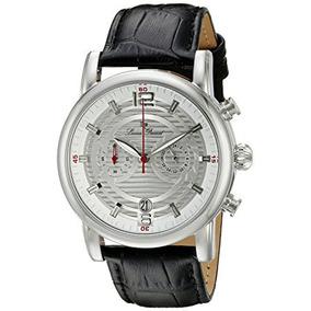 Lucien Piccard Relojes Morano Banda De Cuero Reloj