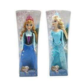 Juguetes Muñeca Disney Frozen Princesas Anna Y Elsa Mattel