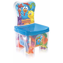 Cadeira Educa Kids Galinha Pintadinha - Líder Brinquedos