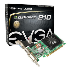 Placa De Video Geforce 210 1gb Ddr3 Vga Hdmi Con Low Profile