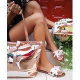Sandalias+bolso+billetera Nuevo Modelo Calidad Colombiana