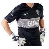 Camiseta De Boca Arquero Nike Original + Estampado Oferta!!!