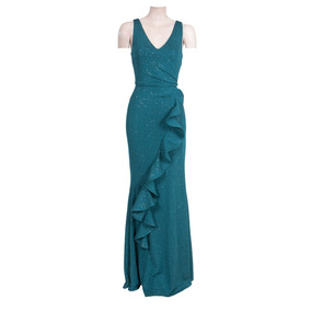Reina Diaz Vestido Corte Sirena Escote V 524400