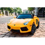 Auto Electrico Deportivo Lamborghini 12v (2 Motores)