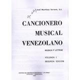 Cancionero Musical Venezolano Vol I (pdf)