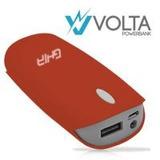Cargador Portatil Ghia Bateria Power Bank 4000 Mah Roja