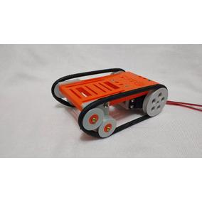 Kit Chassi Robô Pioneer Arduino Com Motor E Esteiras Lagarta