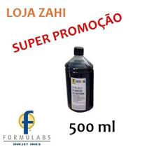 Tinta Preta 500ml Recarga Cartucho Impressora Hp 662 122 60