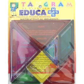 Tangram Rompecabezas Juegos Didacticos Preescolar Y Primaria