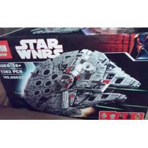 Star Wars Lepin Millennium Falcon 5382 Piezas En Caja Nuevo