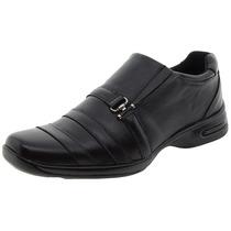 Sapato Masculino Social Preto/fivela Hd - 765