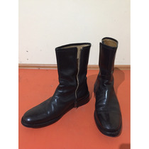 Botas Coach Excelente Estado, Made In Italy En Color Negro