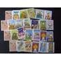 Lote Com 64 Figurinhas / Mini Cartões Garfield 2012 - A6