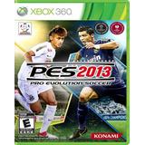Pes 2013 Pro Evolution Soccer Xbox 360 Abierto Nunca Jugado