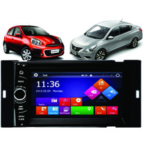 Multimidia Nissan Versa March 2015 / 2017 Tv Dvd Usb Gps