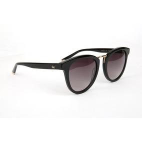 Oculos Solar Ana Hickmann Ah9222 A01 Preto Brilhoso