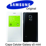 Capa Case Original Sview Galaxy S5 Mini Duos G800 S View