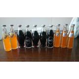Botellas Míni Coca Cola Y Fanta De Colección. 10 Unidades