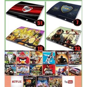 Play 3 Slim Nuevas Ploteadas Con 18 Juegos Digitales