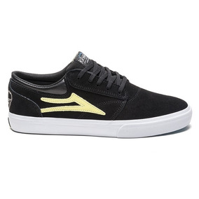 Zapatillas Lakai Griffin Kr Black Yellow Suede