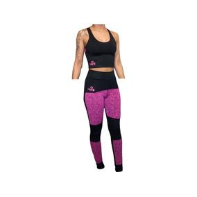 Id401 Conjunto Deportivo Mujer Calza Top Hartl