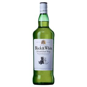 Whisky Black & White 8 Anos 1 Litro ( Promoção Limitada)