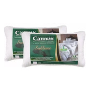 Combo X 2 Almohadas Cannon Sublime 70x40 Hipersoft
