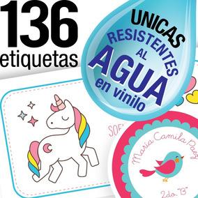 Etiquetas Escolares Personalizadas Utiles Colegio Stickers