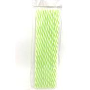 Set X 10 Sorbetes Plasticos Reutilizables