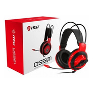 Headphone Gamer Msi - Ds501 - 3018