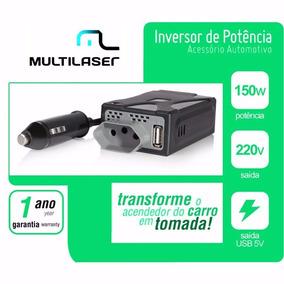 Inversor Conversor Veicular 150w 12v P/ 220v - Au901