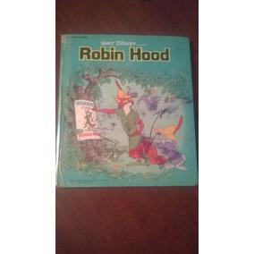 Libro Cuento De La Película Robin Hood De Walt Disney